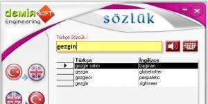 DemirSoft Türkçe İngilizce Sözlük 2010