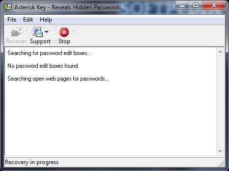 Asterisk Key Şifre Çözücü
