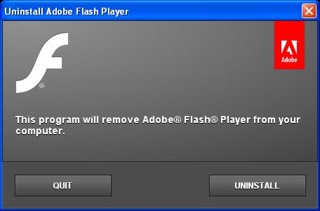 Adobe Flash Player Uninstaller